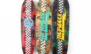 Krooked 'Floral' Zip Zinger & Zig Zagger Skateboards