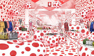 Louis Vuitton Opens Pop-Up Stores for Kusama Collection