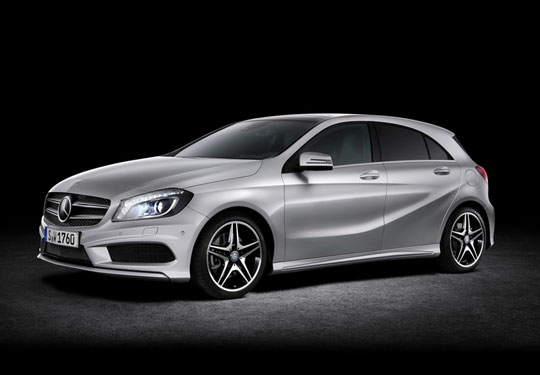 video mercedes benz a class commercial highsnobiety. Black Bedroom Furniture Sets. Home Design Ideas