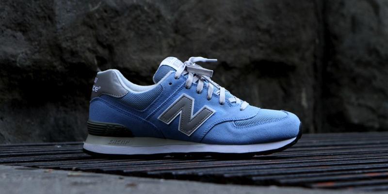 new balance 574 light blue