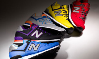 New Balance M574 'Windbreaker' Pack Spring/Summer 2013
