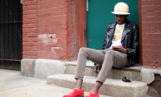 Street Style: Woodson Legrand in Topman, Comme des Garcons PLAY & More