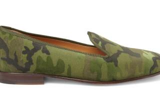 Stubbs & Wootton 'Camo' Velvet Slippers