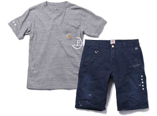 Uniform Experiment X Carhartt Summer 2012 Shorts And T
