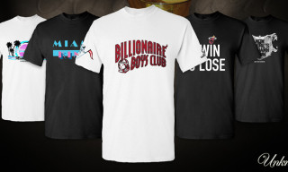 Unknwn NBA Championship Tees – Billionaire Boys Club, Staple Design, 10 Deep, No Mas and Undrcrwn