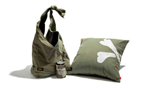 wtaps cup holder shoulder bag and cushion