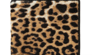 Yves Saint Laurent Leopard Print Wallet