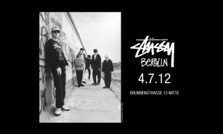 Stussy Berlin Pop Up Store