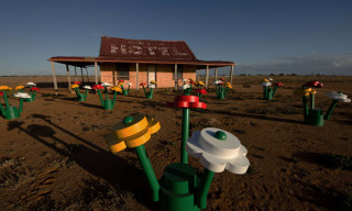 Life Size LEGO Forest in the Australian Outback