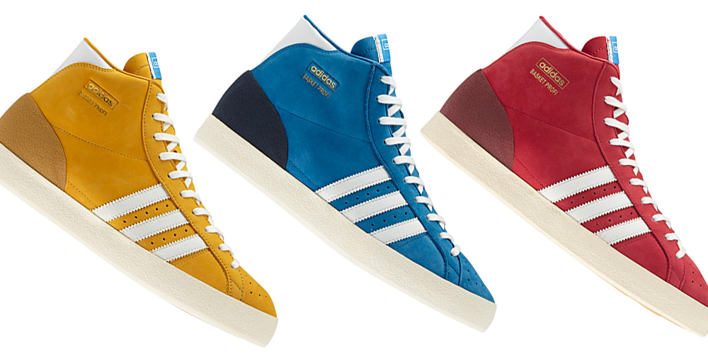 on sale 0ad15 7a3d3 adidas Originals Basket Profi OG Pack Fall 2012  Highsnobiet