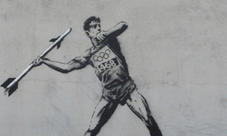 Banksy Interprets the Olympics