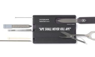 Bape x Victorinox Card Multi Tool Set
