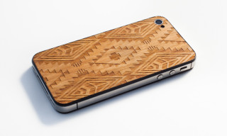 Benny Gold x Material6 'Native Print' Wooden iPhone Back