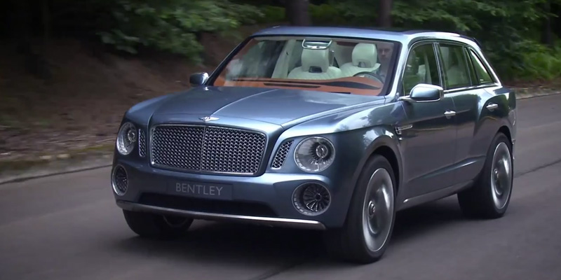 Video: Bentley EXP 9 F Concept SUV | Highsnobiety
