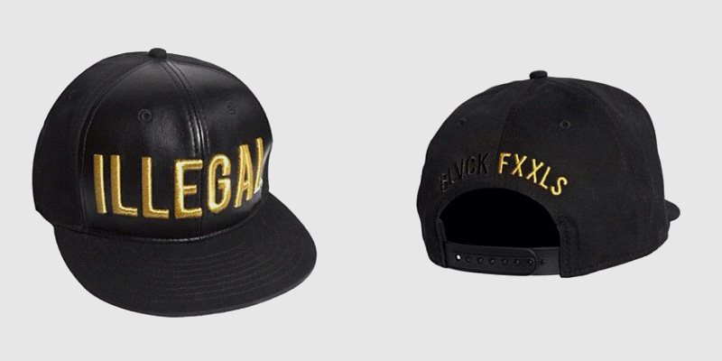 Black Scale x Fool s Gold Records  Illegal  Snapback Cap  dd4745ef732