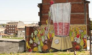 New Mural By Blu In Ordes, Spain