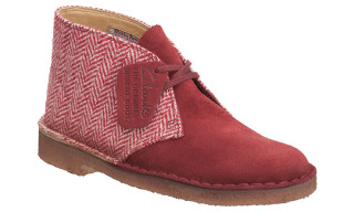 Clarks x Harris Tweed Desert Boots
