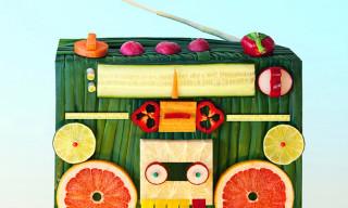Dan Cretu Turns Food Into Everyday Objects