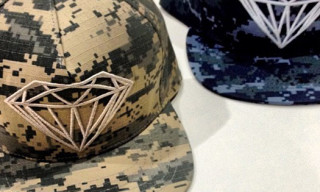 Diamond Supply Co. Digital Military Camo Brilliant Snapback Caps
