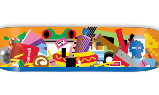 Enjoi Skateboard Decks by Craig & Karl