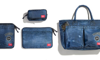 fragment design x Head Porter 'Denim Transfer Print' Bag Collection