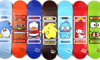 Girl Skateboards Sanrio Series