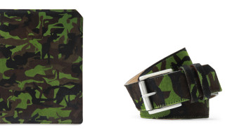 Jimmy Choo Camouflage Accessories – iPad Case, Belt & More