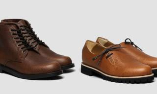 Junya Watanabe MAN Pebble Grain Shoes & Boots