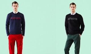 Kenzo Paris Logo Sweatshirts