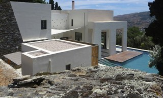Emasies House by Klab Architects on Andros Island
