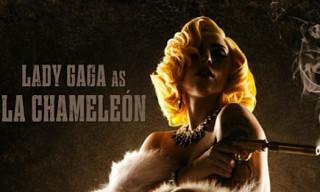 "Lady Gaga Makes Acting Debut in ""Machete Kills"""