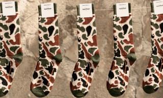 Etiquette x Le Berlinois by SOTO – Camouflage Cashmere Socks