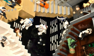 'Star Wars Relativity V2′ – LEGO, Star Wars and M.C. Escher