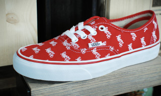 Vans x Curtis Kulig 'Love Me' Spring/Summer 2013 Footwear