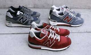 New Balance Made in USA Fall/Winter 2012 – 996, 1300 Releases