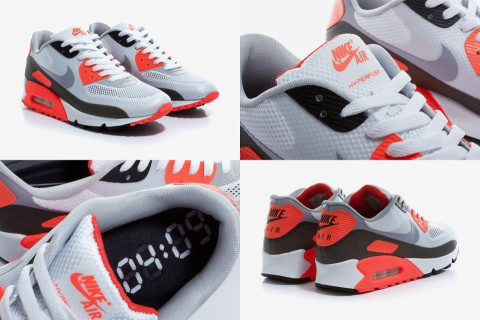 nike air max 90 hyperfuse infrared sneaker