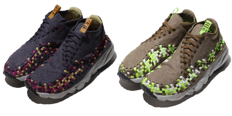 ... Nike Air Footscape Woven Chukka Wool Sneaker Pack Fall Winter 2012  Highsnobiety best ...