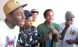 Video: Odd Future Freestyle at Terry Richardson's Studio