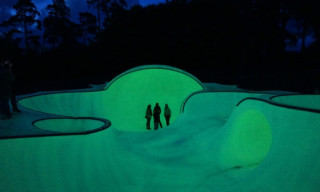 OTRO by Koo Jeong-A: The First Glow In The Dark Skate Park