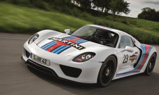 Porsche 918 Spyder Martini Concept