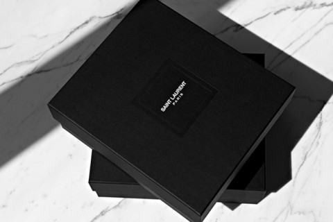 saint laurent logo and packaging a first look