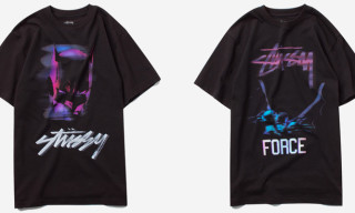 "Stussy x Batman ""The Dark Knight Rises"" Capsule T-Shirt Collection"