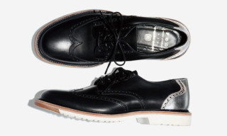 uniform experiment x Forest of Gingko Wing Tip Shoes Fall/Winter 2012