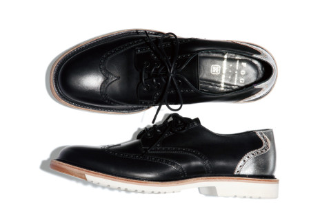 uniform experiment forest of gingko FOG wing tip shoes