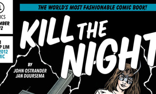 3.1 Phillip Lim 'Kill The Night' Fall 2012 Comic Book