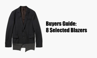 Buyers Guide: 8 Selected Blazers for Fall/Winter 2012