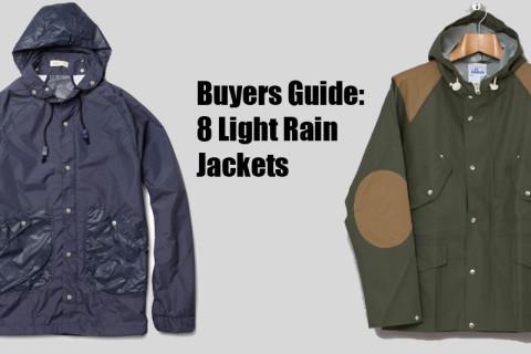 Buyers Guide: 8 Light Rain Jackets | Highsnobiety