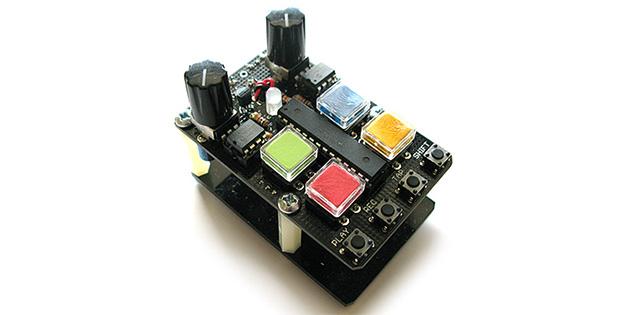 dam drum handheld drum machine sequencer by dam funk highsnobiety. Black Bedroom Furniture Sets. Home Design Ideas