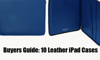 Buyers Guide: 10 Leather iPad Cases