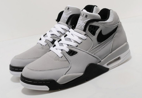 timeless design c98d8 af298 The Air Flight 89 shares close similarities to the classic Jordan IV. This  edition comes in a premium nubuck upper in wolf grey, sat on the chunky ...